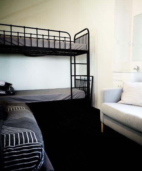 Bunk beds in Queen Room