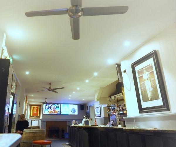 A local Port Fairy Sports Bar