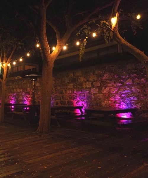 Beer Garden Lighting