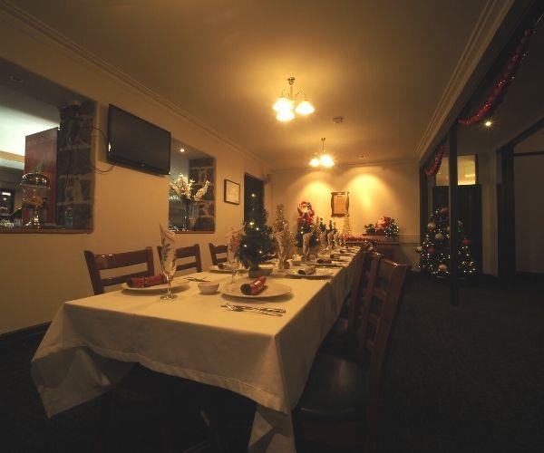 Christmas function hall