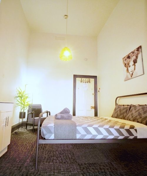 Comfortable Double Room at Star of the West Hotel
