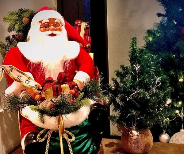 Santa Claus Doll at Star of the West Hotel