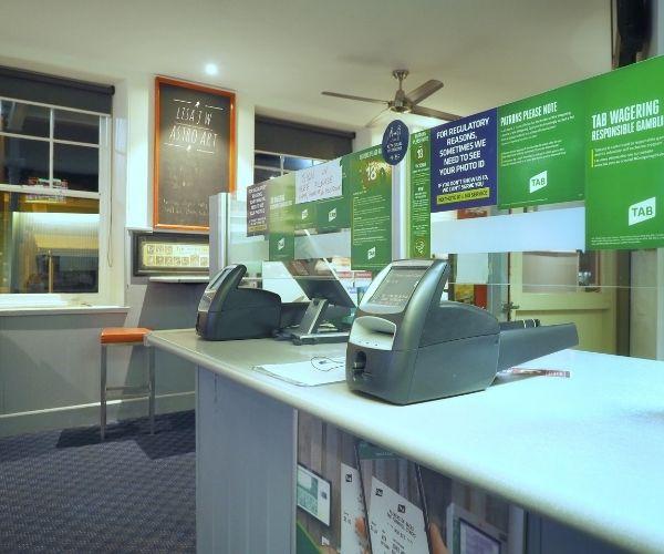 TAB facilities at Port Fairy Sports Bar